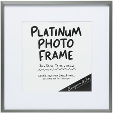 Platinum 31 x 31 Metal Photo Frame (Set of 6)