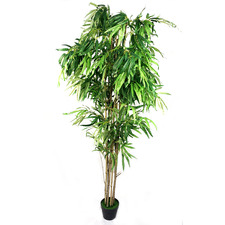 180cm Potted Faux Bamboo Tree