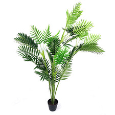 160cm Potted Faux Palm Tree