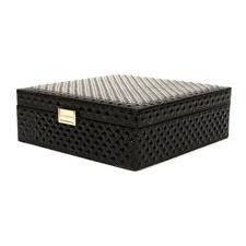 Mandeville Faux Leather Jewellery Box