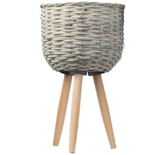 Willow Planter on Stand