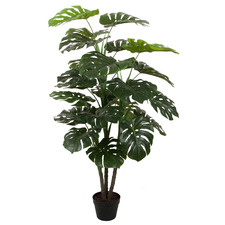 140cm Potted Faux Monstera Plant