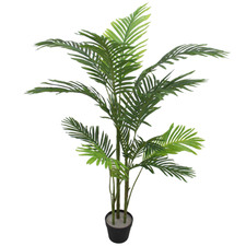 135cm Potted Faux Phoenix Palm Tree