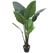 110cm  Potted Faux Bird Of Paradise Tree