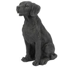 Black Labrador Statue