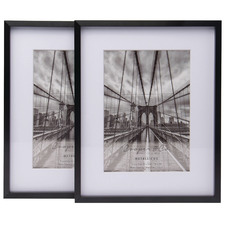 "Matte Premium Metallicus 5 x 7"" Metal Photo Frames (Set of 2)"