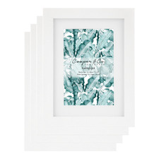 Matte Chelmsfield Photo Frames (Set of 4)