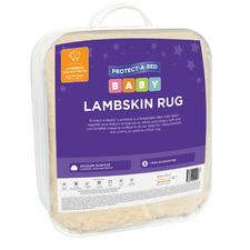 White Lambskin Baby Rug