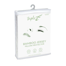 Bamboo Jersey Standard Pillow Protector