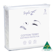 Terry Cotton Fitted Mattress Protector