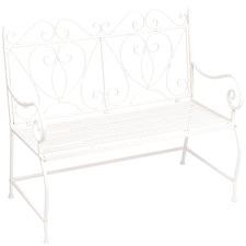 2 Seater Quindell Metal Garden Bench