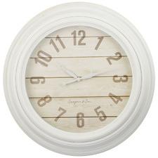 60cm White Dayna Wall Clock