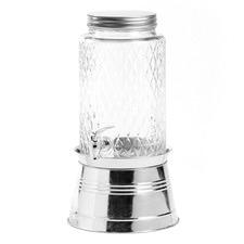Treasure 5.6L Glass Dispenser & Metal Base Set
