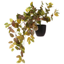 78cm Potted Faux Perilla Leaf Hanging Plant