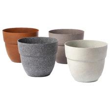4 Piece Opal Pot Planter Set