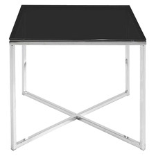 Orlando Square Glass End Table