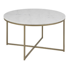 Dallas Round Marble Coffee Table