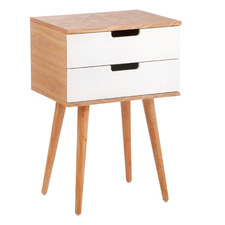 Louis 2 Drawer End Table