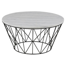 Benton Marble Coffee Table