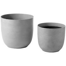 2 Piece Massima Planter Pot Set