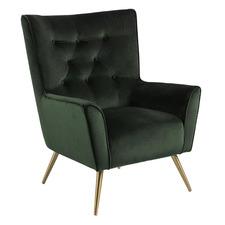 Montenaro Velvet Accent Chair