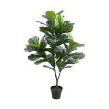 120cm Potted Faux Fiddle Leaf Plant