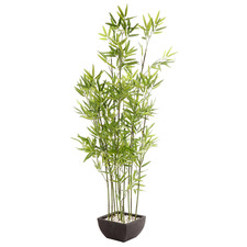 122cm Potted Faux Bamboo Plant