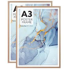 Beige Poster Frames (Set of 2)