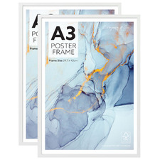 White Poster Frames (Set of 2)