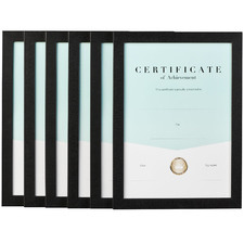 Urban A4 Certificate Frames (Set of 6)
