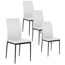 White Emily Dining Chairs (Set of 4)
