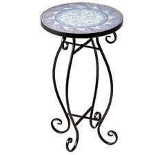 Florence Mosaic Outdoor Side Table