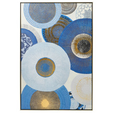 Afternoon Abstract Framed Canvas Wall Art