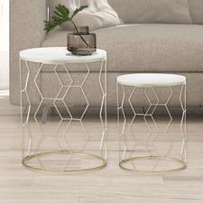 2 Piece Jimny Nesting Side Table Set