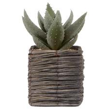 29cm Potted Faux Aloe Vera Artificial Plant