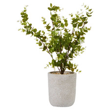 41cm Potted Faux Zanzibar Plant