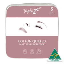 Quilted Cotton Fitted Mattress Protector