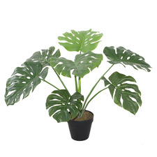 60cm Potted Faux Monstera Plant