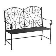 2 Seater Apple Iron Outdoor Bench
