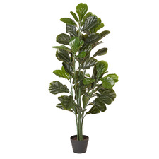 130cm Potted Faux Fiddle Leaf Tree