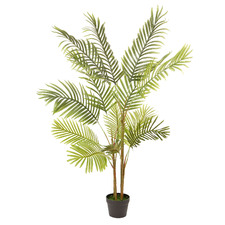 135cm Potted Faux Phoenix Palm Tree