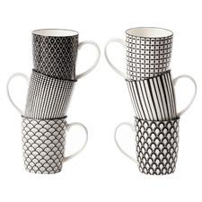 6 Piece Ava 300ml Ceramic Mug Set
