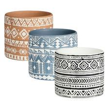 3 Piece Kinsfolk Terracotta Pot Set