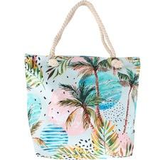 Moon Palm Beach Bag