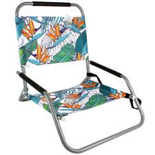 Printed Banana Leaf Beach Chair