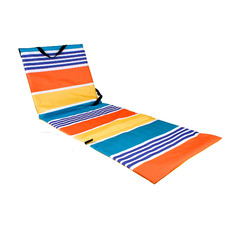 Stripe Collapsible Beach Lounger