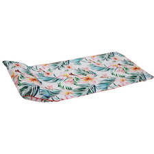 Frangipani Beach Towel with Inflatable Pillow
