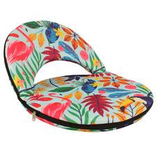 Rainbow Jungle Foldable Floor Beach Chair
