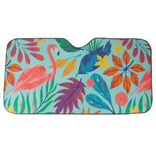 140 x 72cm Rainbow Jungle Car Sunshade