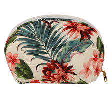 Tropical Petal Beach Cosmetic Bag